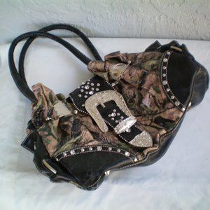 Montana West Double Handle Camouflage Western Bag